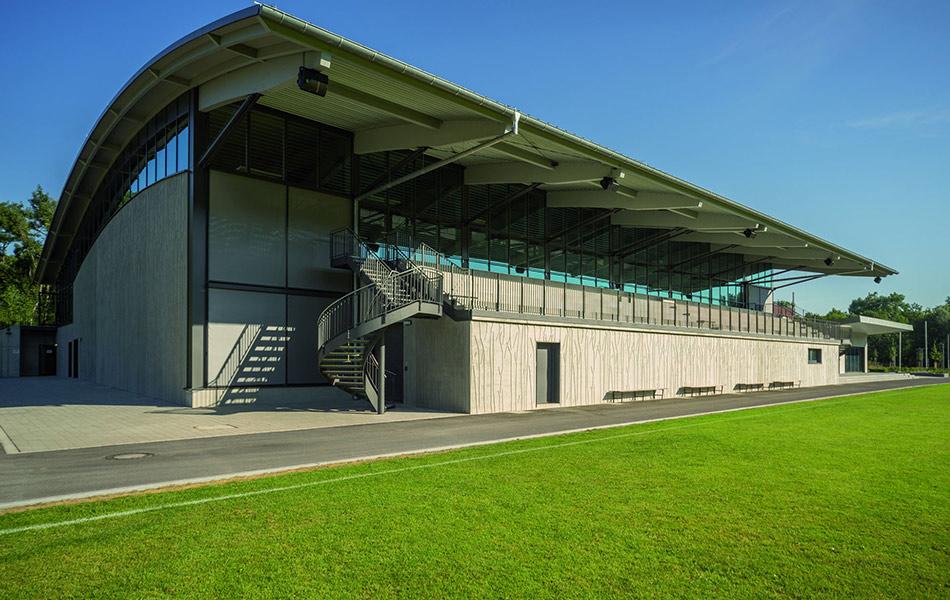 Neubau Auwald Sportzentrum Gundremmingen