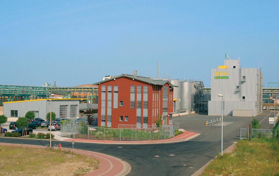 Neubau Biodieselanlage in Bitterfeld
