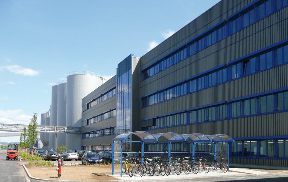 Neubau der Papierfabrik Plattling Papier PM1