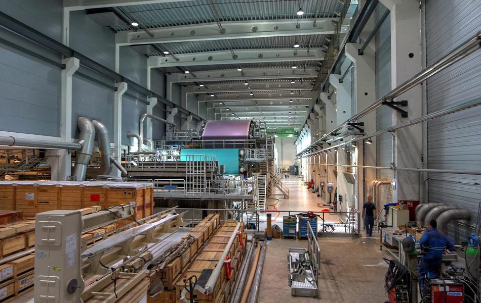 Papierfabrik PM2 der Pöls AG