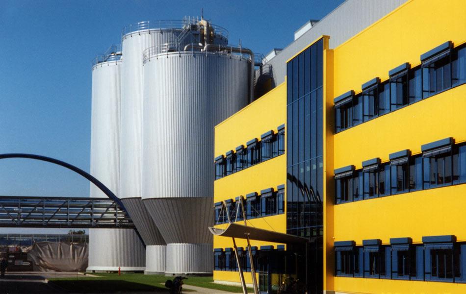 Neubau der Papierfabrik PM5 in Ettringen