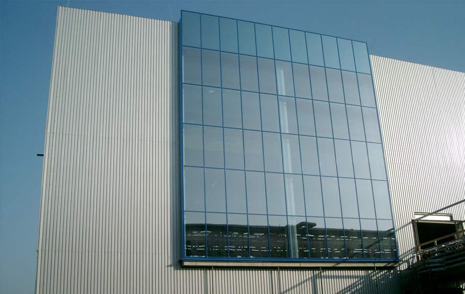 Papierfabrik PM4 in Schwedt / Oder