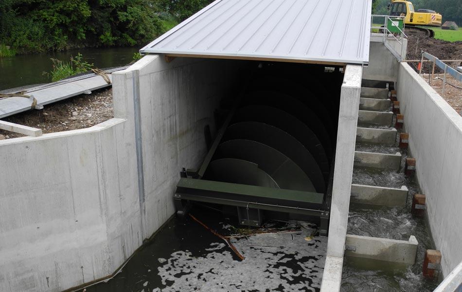 Neubau Wasserkraftwerk an der Mindel