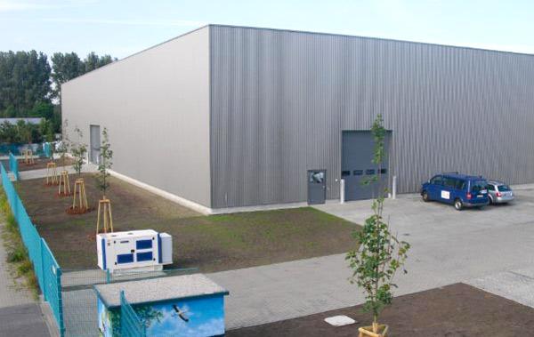 Neubau der Fertigungshalle