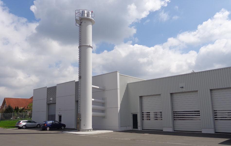Neubau einer Energiezentrale