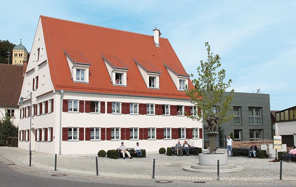 Wohnanlage für Menschen mit Behinderung in Neuburg / Kammel