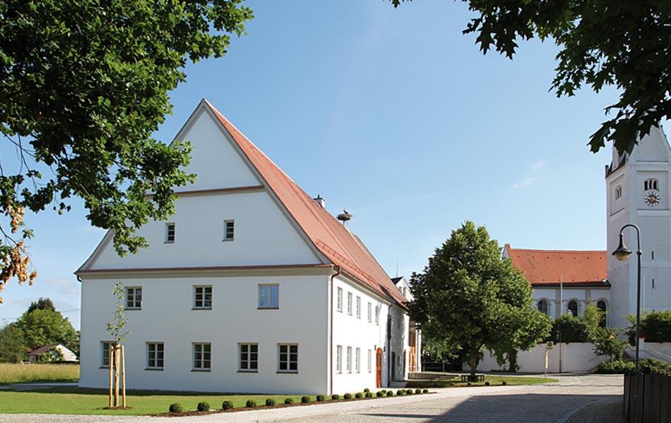 Umbau Pfarrstadel Langenhaslach