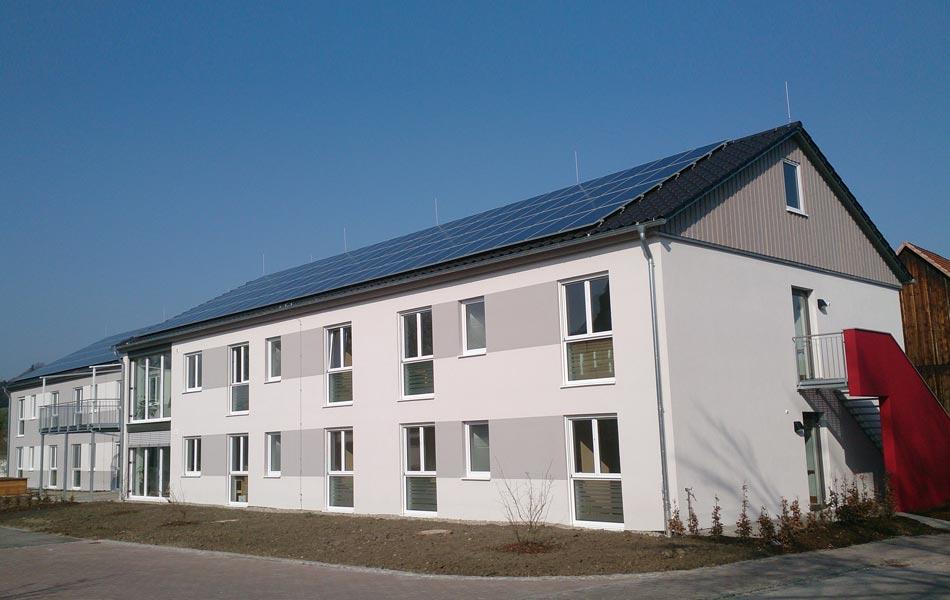 Neubau einer Wohnanlage in Niederraunau