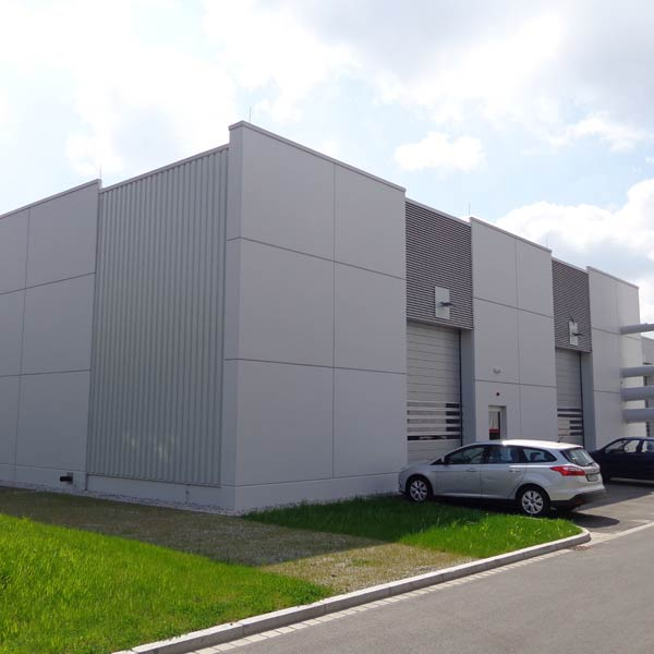 New construction of an energy centre