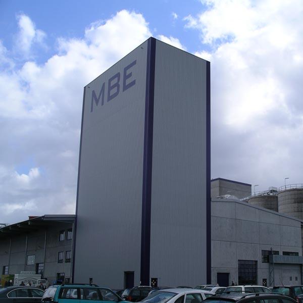 Gebäude der Bioethanolanlage von der Firma Verbio baute in Zörbig.