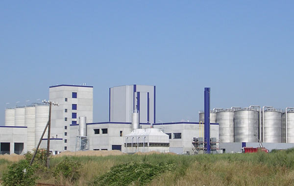Großbild der Bioethanolanlage Zörbig. Schuster engineering war hier Baugeneralplaner für die Gesamtanlage.