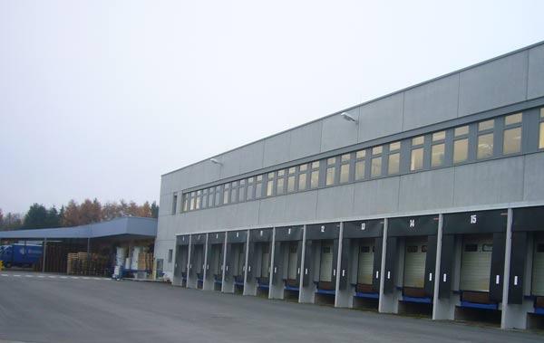 Das neue Gebäude der Brenner Verpackung von Schuster engineering.
