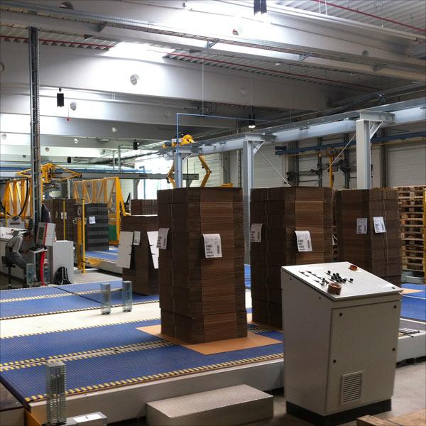 Mit 8000 Quadratmetern bietet die neue Produktionsfläche ausreichend Platz.