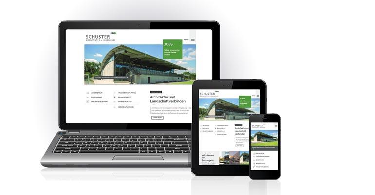Bei einem Relaunch haben wir die Website von SCHUSTER engineering an unser neues Corporate Design angepasst.