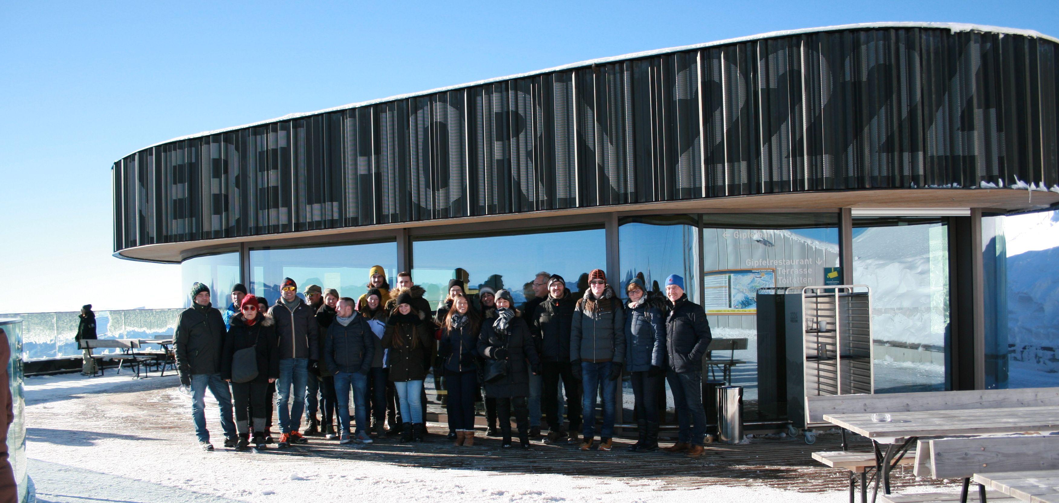 Das Gipfelrestaurant am Nebelhorn und die Architekten und Ingenieure von Schuster engineering.