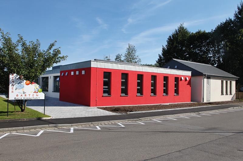 Der Kindergarten in Neuburg. Auch hier wurde ein individuelles Brandschutz-Konzept erarbeitet.